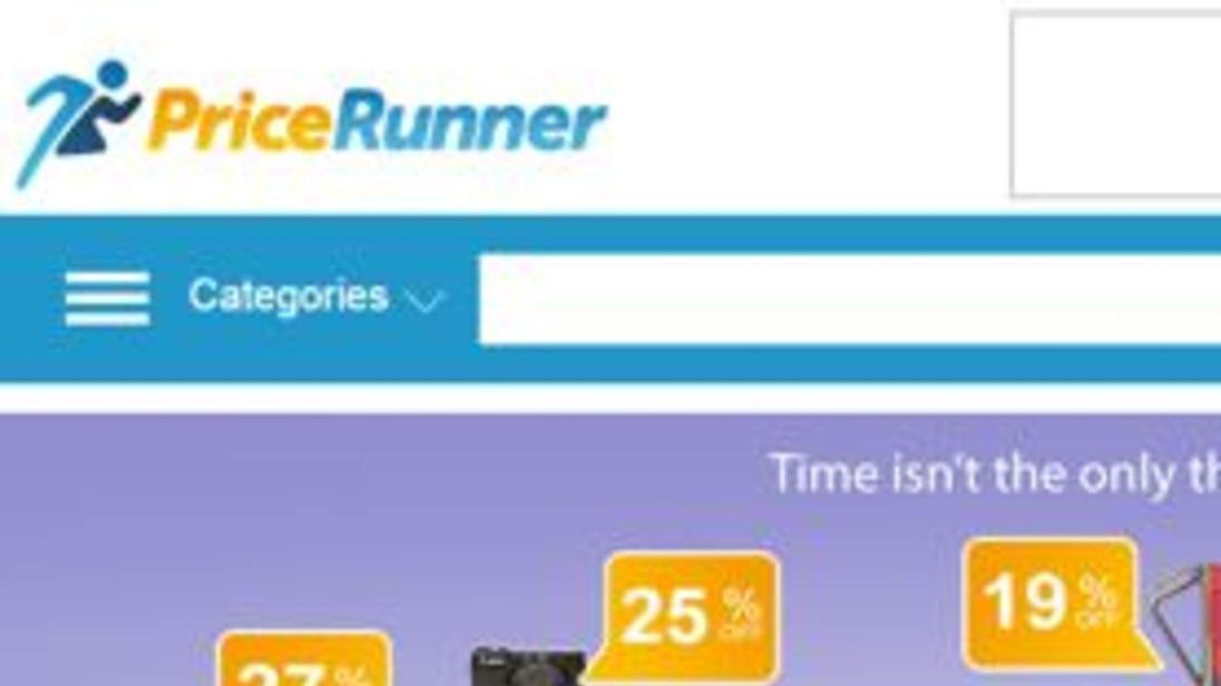 Grab from Pricerunner website