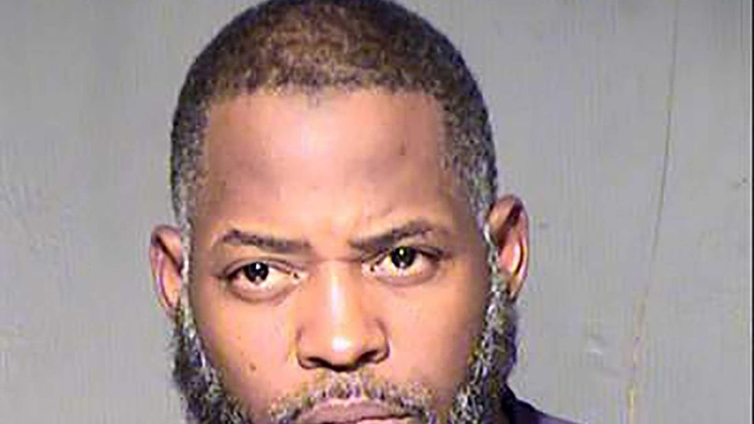 Abdul Malik Abdul Kareem is seen in an undated booking photo released by the Maricopa County Sheriff's Office in Phoenix