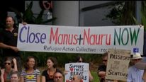 Nauru detention centre protests