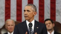 President Obama Delivers His Last State Of The Union Address To Joint Session Of Congress