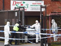 Man shot dead in warehouse robbery bid
