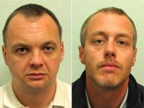 Stephen Lawrence (L), Gary Dobson and David Norris (R)