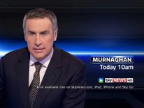 Watch the Murnaghan programme on Sky News.