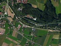 Bavaria train crash satellite of rail track