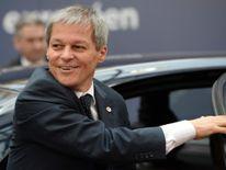 Romania's Prime Minister Dacian Ciolos