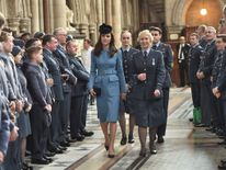 The Duchess of Cambridge marks the 75th anniversary of the Air Cadets.