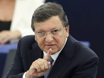 European Commission President Barroso addresses the European Parliament in Strasbourg
