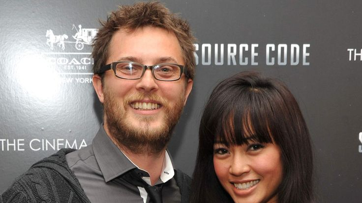 Duncan Jones and his wife Rodene Ronquillo