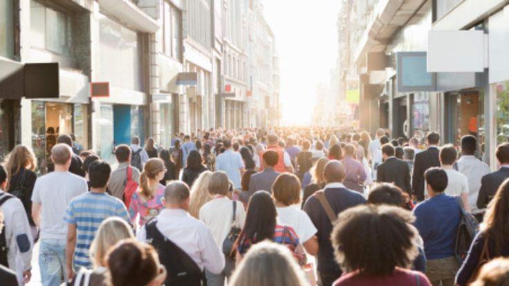 High street shoppers