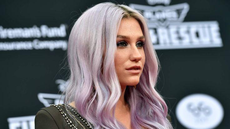 US Singer Kesha