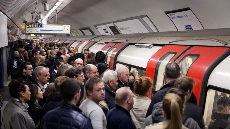 London Underground 48-hour Tube Strike Affects Rush Hour