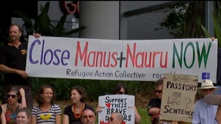 Nauru detention centre protests