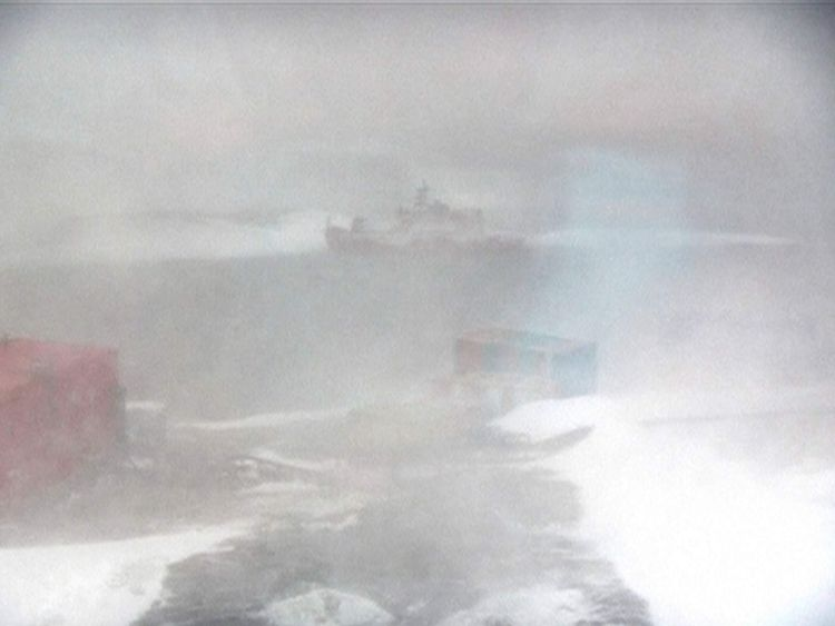 Icebreaker Aurora Australis runs aground in Antarctica