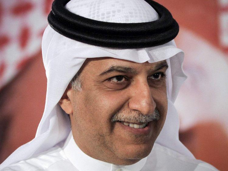 Sheikh Salman al-Khalifa.