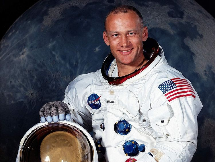 US Astronaut Buzz Aldrin in July 1969