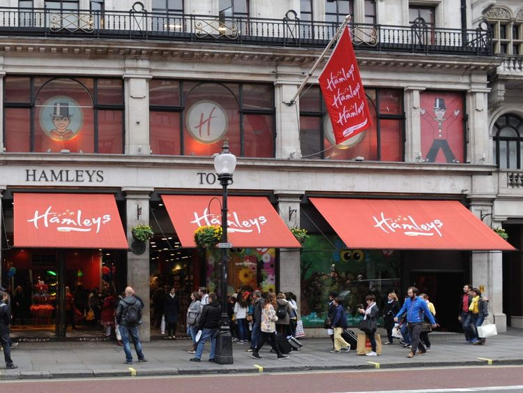 Hamleys in London