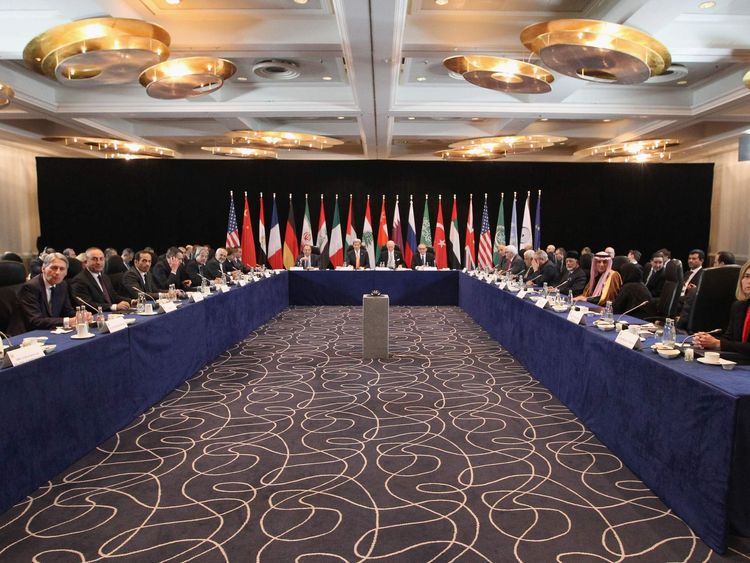The International Syrian Support Group