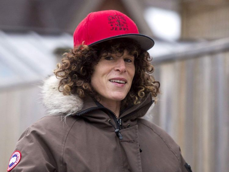 Andrea Constand out and about, Toronto, Canada - 31 Dec 2015