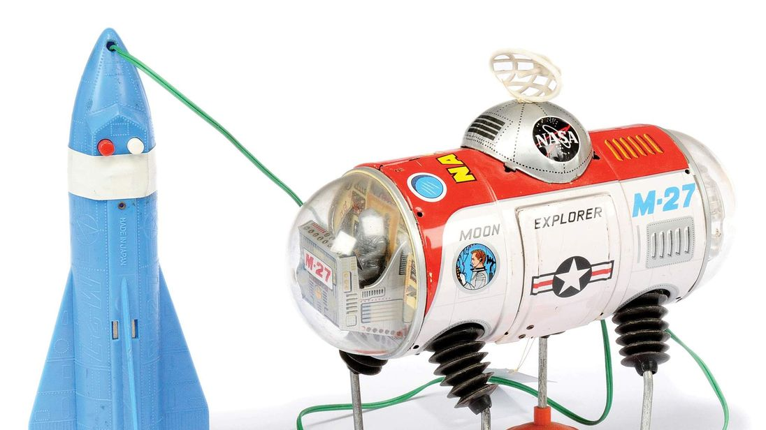 The M-27 moon explorer, made in Japan in the 1960s