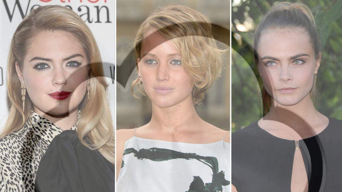 Celebrity photos hacked