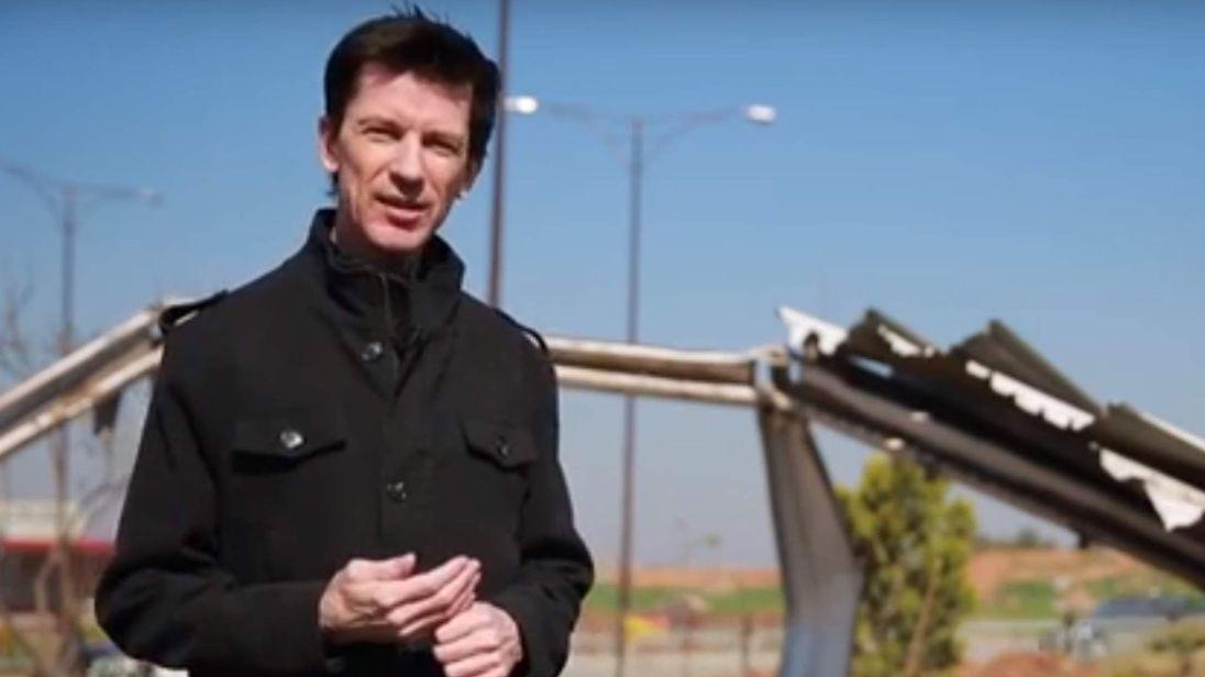 John Cantlie latest video still