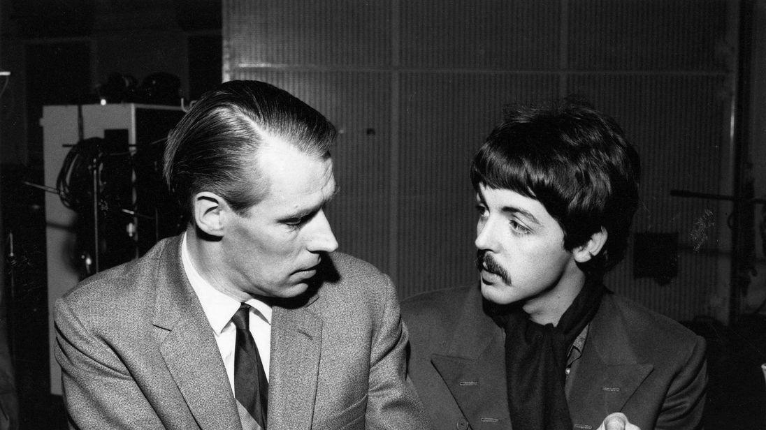 GEORGE MARTIN AND PAUL McCARTNEY