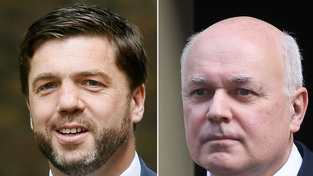 Stephen Crabb and Iain Duncan Smith