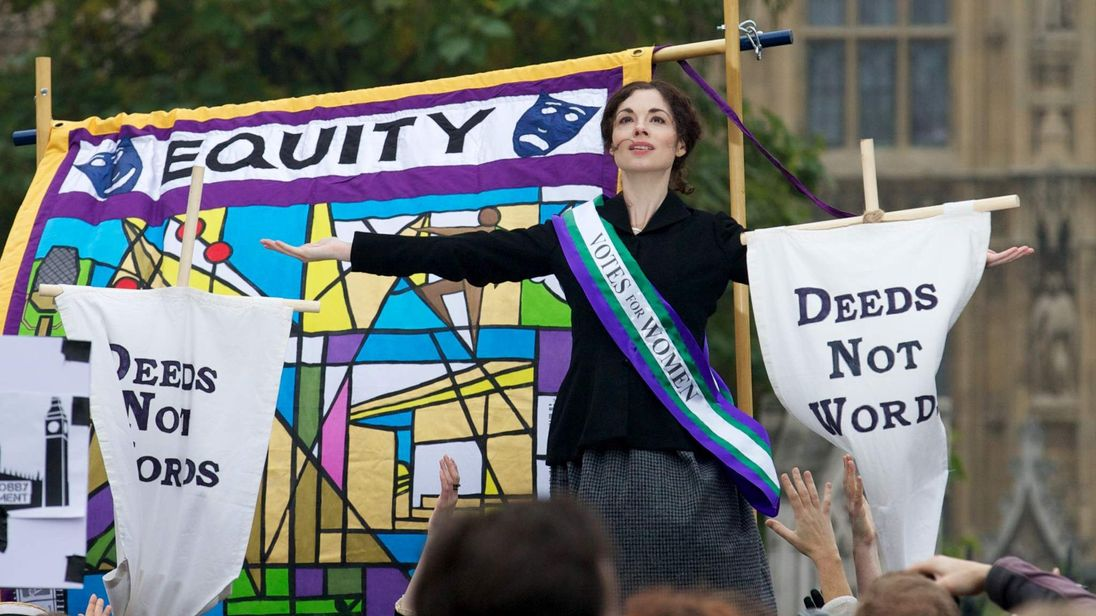 Suffragettes protests
