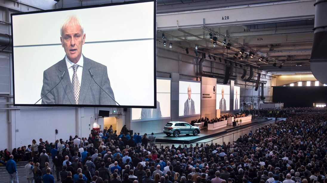 VW Staff Meeting Wolfsburg
