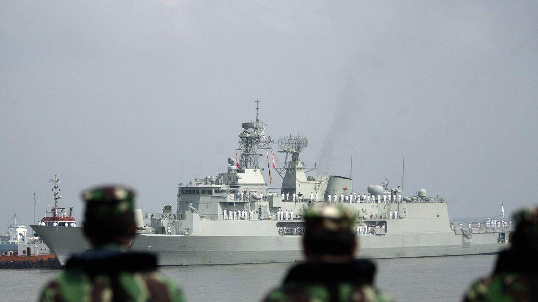 Australian warship HMAS Warramunga
