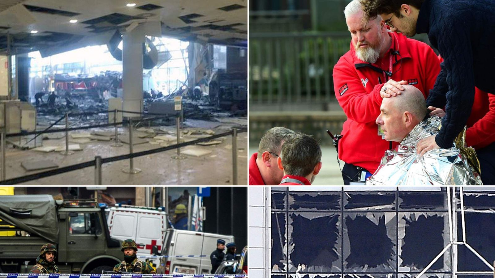 brussels metro & airport terror attacks