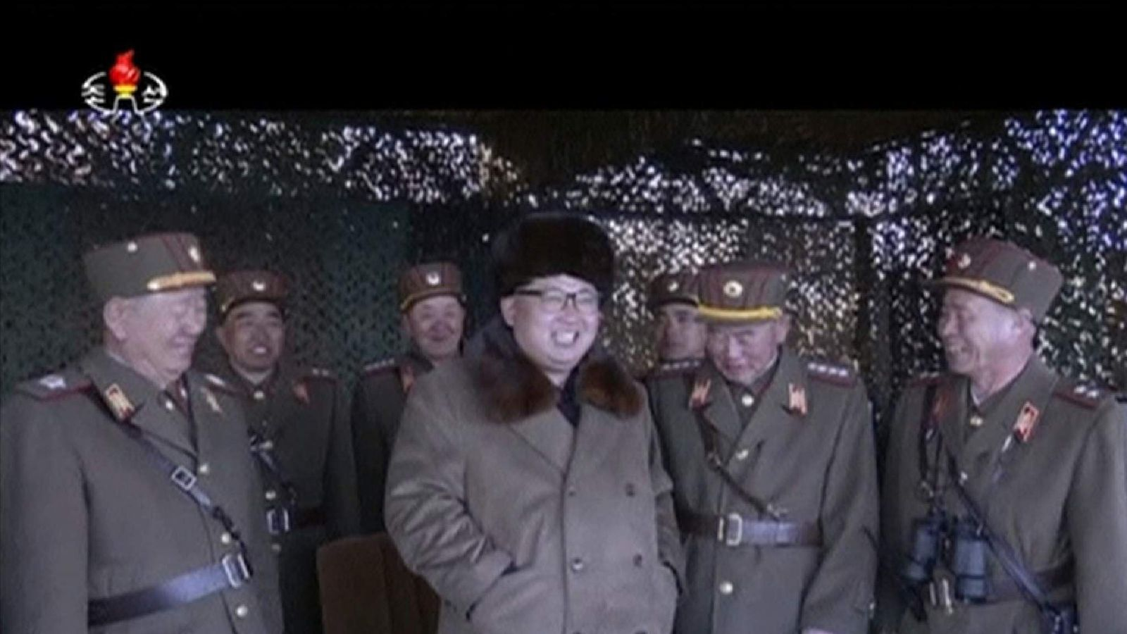KIM JONG 'UN WEAPONS DRILL
