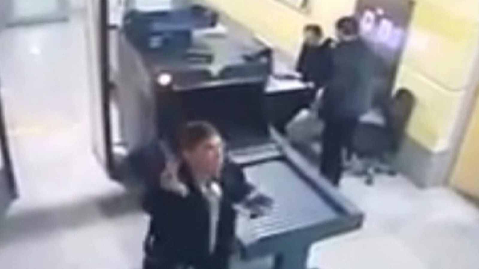 Hijacker Goes Through Airport Security