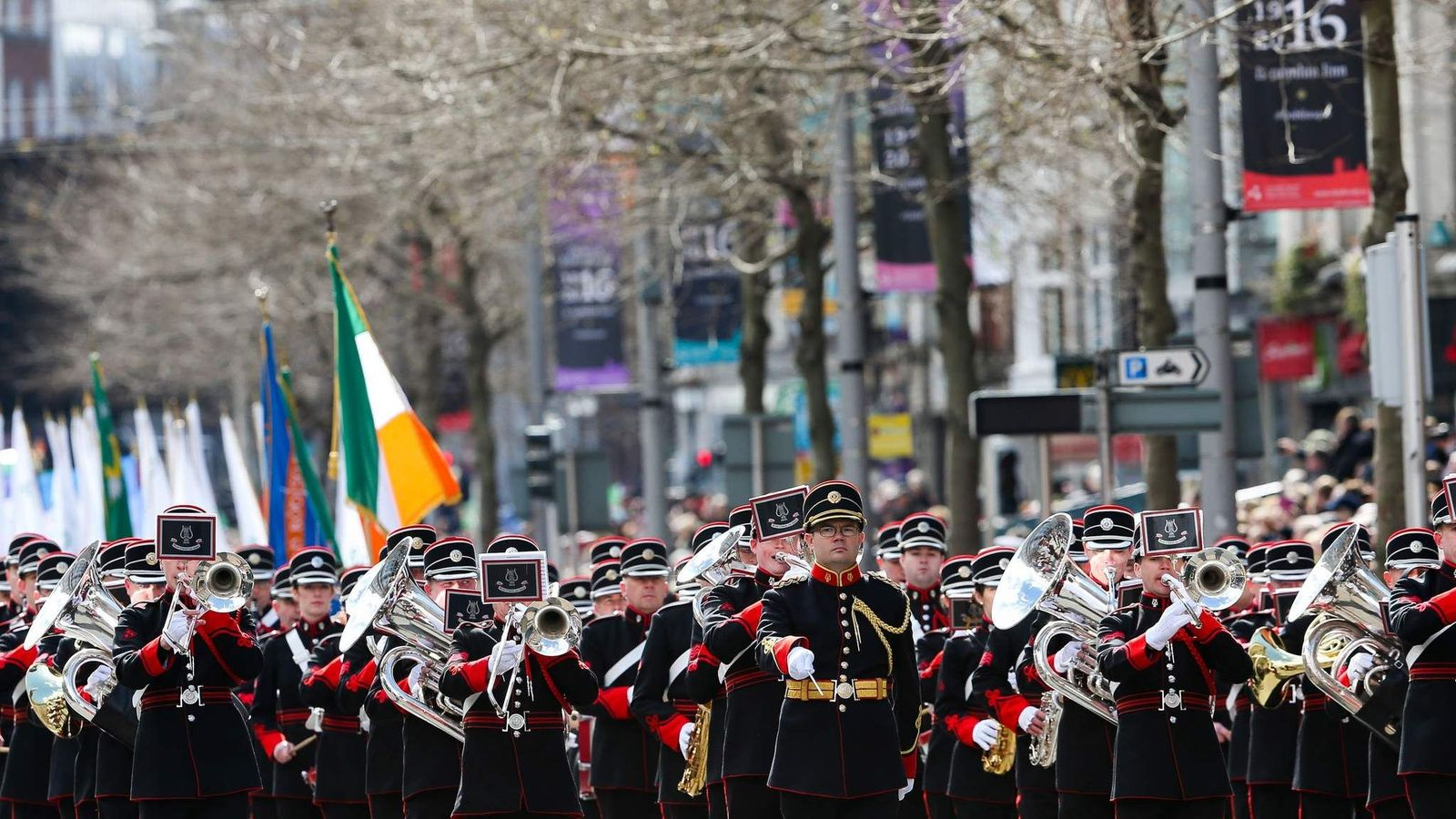 Dublin Commemorates The Easter Rising Centenary