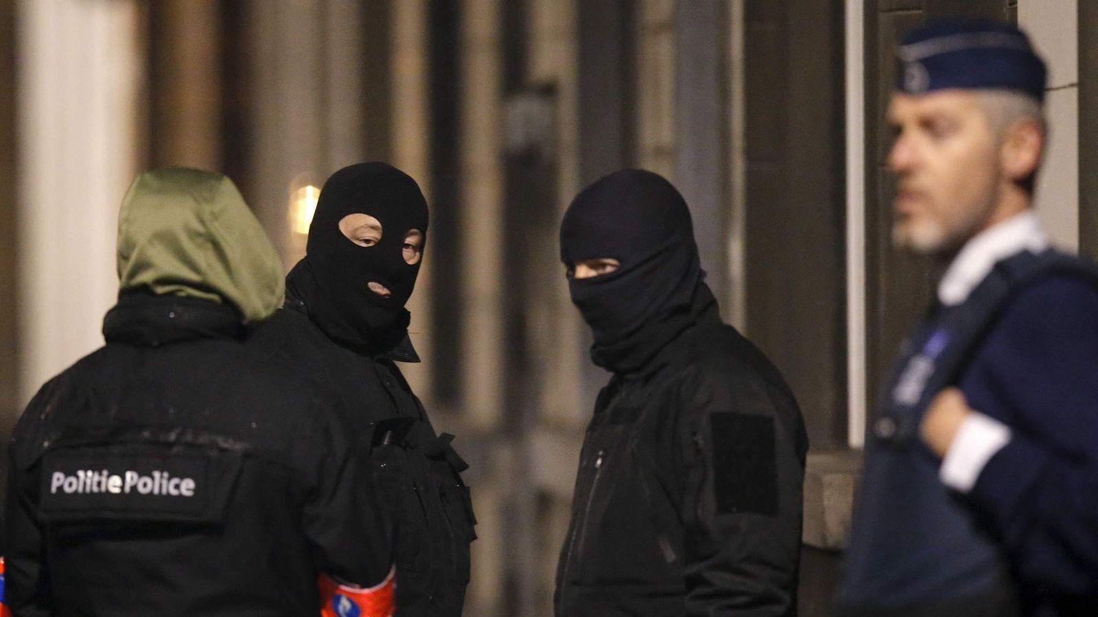 Belgium police raids
