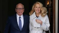 Rupert Murdoch and Jerry Hall wedding