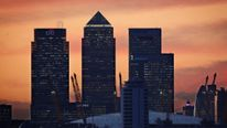 View Of Canary Wharf And London Skyline
