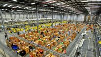 Amazon warehouse in Hemel Hempstead