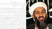 More than 110 of bin Laden's files have been declassified. Pic: DNI