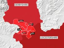 Postcodes affected by Severn Trent water problems
