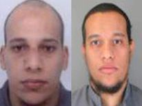 Cherif Kouachi (L) and Said Kouachi (R)