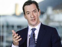 George Osborne Delivers Speech Warning Of Potential Economic Difficulties In The Coming Year