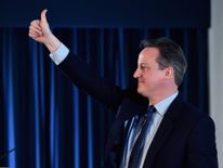 Prime Minister David Cameron delivers his key note address to the Scottish Conservative Party conference