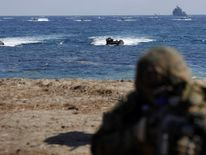 South Korea and U.S. Marines Hold Joint Landing Operation