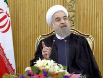 Iranian President Hassan Rouhani in Tehran