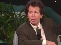 Garry Shandling as Larry Sanders on The Larry Sanders Show.