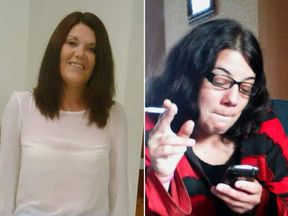 Lynne Freeman and Jodie Betteridge, who were killed in Redcar.