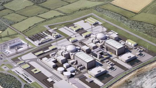 Hinkley Point nuclear plant CGI picture