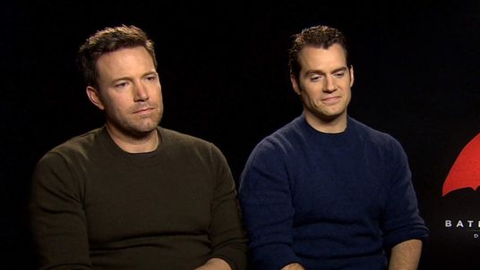 Ben Affleck and Henry Cavill