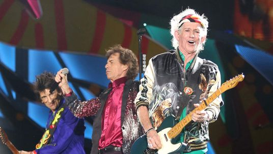 Rolling Stones perform in Cuba